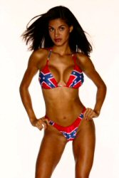 Lined Bikini for Rebelicious Southern Babes. Size 3/4, 5/6, 7/8, ...